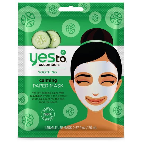 yes to Cucumbers Calming Paper Mask(예스 투 큐컴버 카밍 페이퍼 마스크)