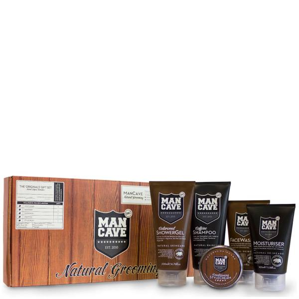 ManCave Natural Originals 5 Part Gift Set