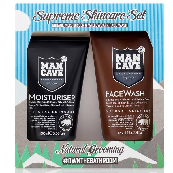 ManCave Supreme Skincare 2 Part Gift Set