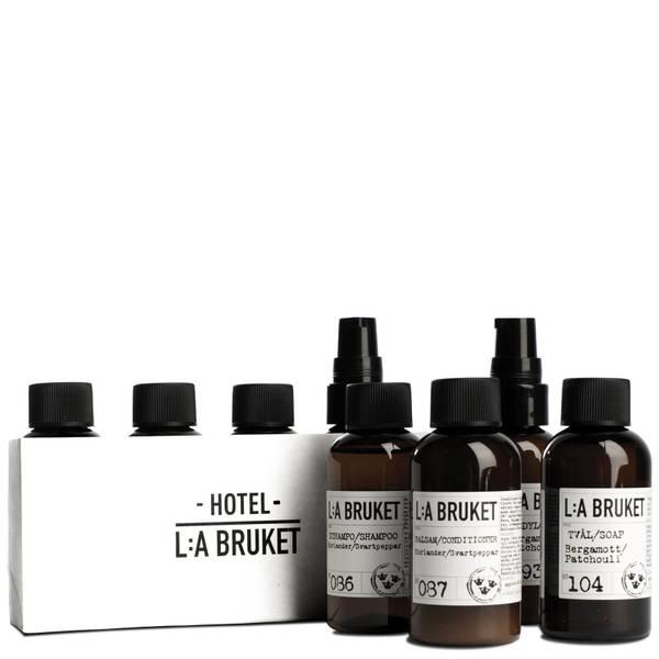 L:A BRUKET No. 165 Travel Kit 4 x 55ml