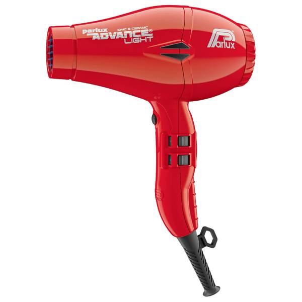 Parlux Advance Light Ceramic Ionic Hair Dryer - Red