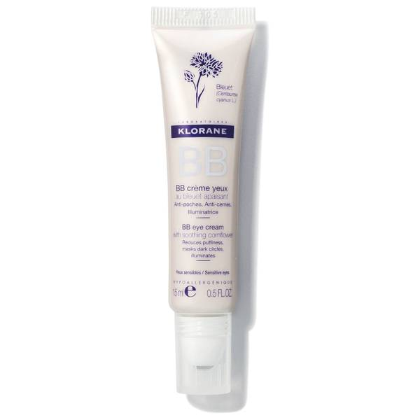 KLORANE BB Eye Cream with Soothing Cornflower 0.5oz