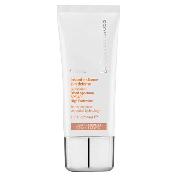 Dr Dennis Gross Skincare Instant Radiance Sun Defense Broad Spectrum SPF40 - Light Medium 50ml