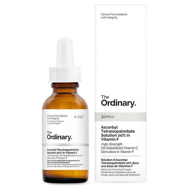 The Ordinary Ascorbyl Tetraisopalmitate Solution 20% in Vitamin F 30 ml