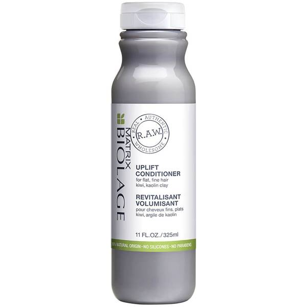 Biolage R.A.W Uplift Conditioner, Natural Shine and Volume Conditioner for Fine Flat Hair 325ml