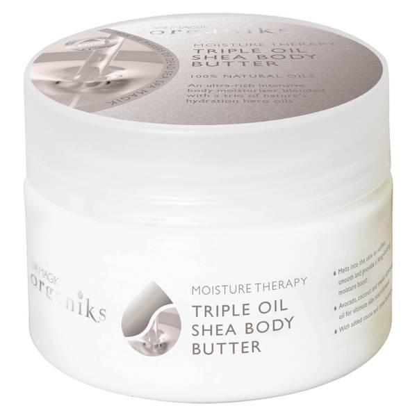 Spa Magik Organiks Moisture Therapy Triple Oil Shea Body Butter
