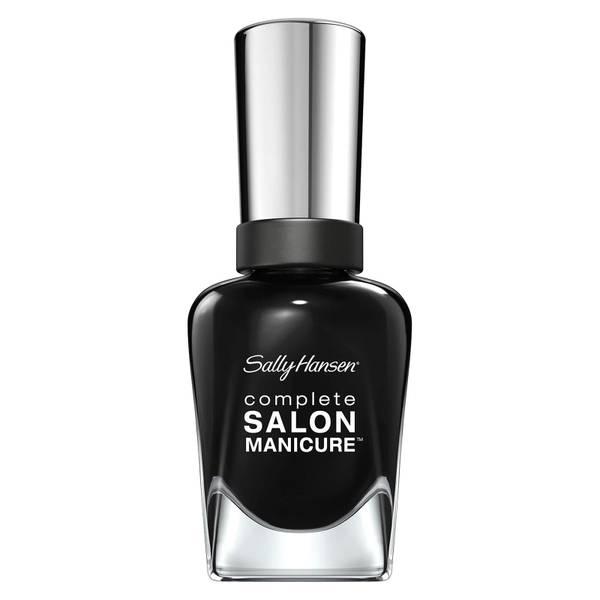 Sally Hansen Complete Salon Manicure 3.0 Keratin Strong Nail Polish - Hooked on Onyx 14.7ml
