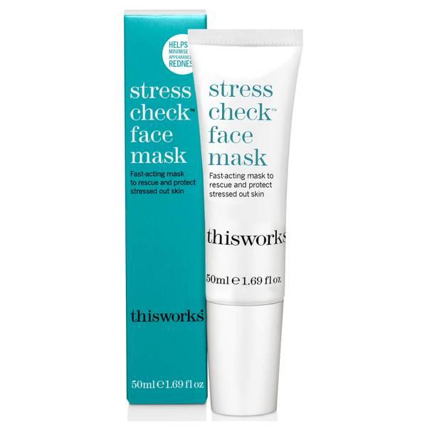 this works Stress Check Face Mask -kasvonaamio 50ml
