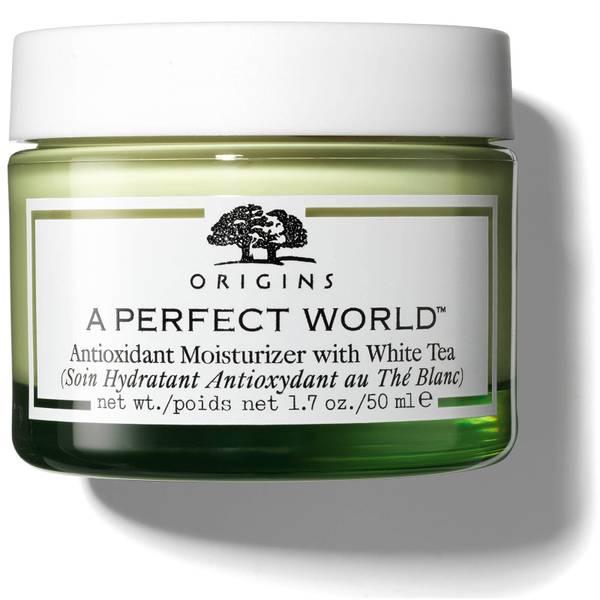 Crema hidratante antioxidante con té blanco A Perfect World™ de Origins 50 ml