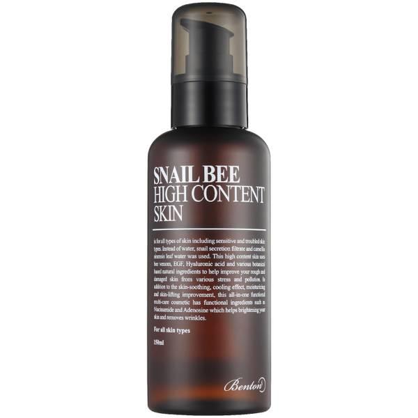 Tónico para la piel Snail Bee High Content de Benton 150 ml