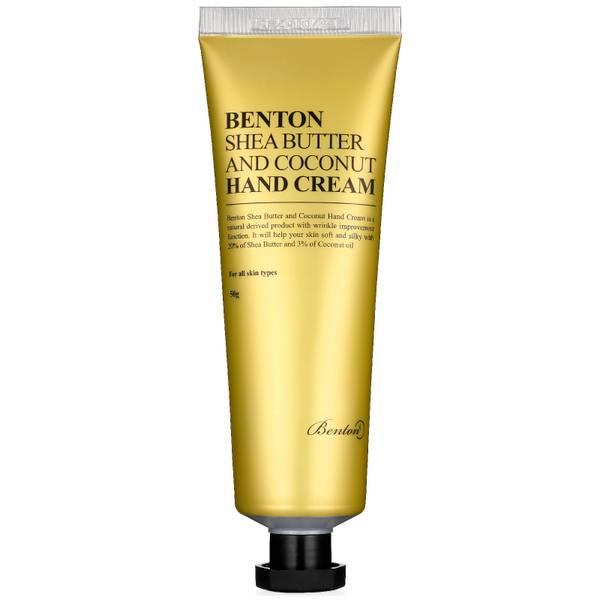 Crema de manos Shea Butter and Coconut de Benton 50 g
