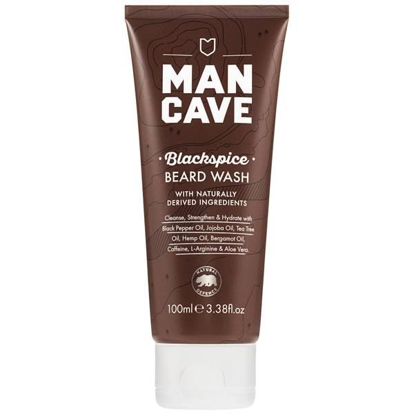 ManCave Beard Wash – Blackspice 100 ml