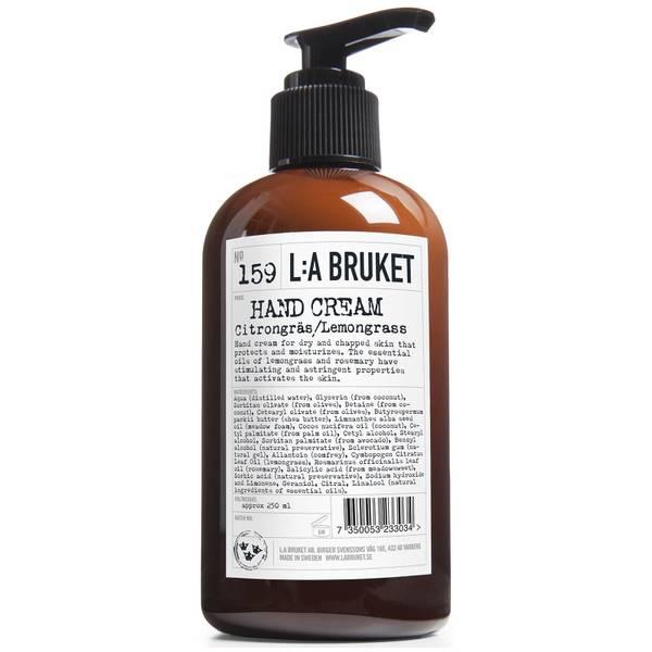 L:A BRUKET Hand Cream 250ml - Lemongrass