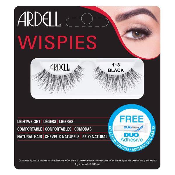 Ardell Wispies False Eyelashes – 113 Black