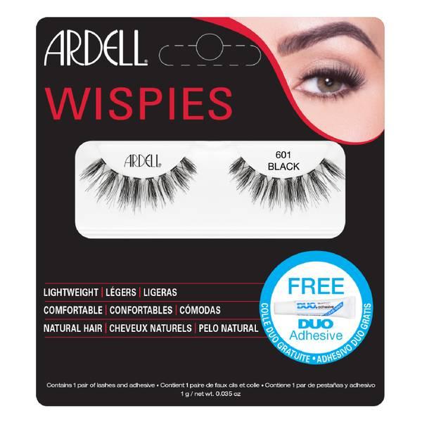 Ardell Wispies Clusters False Eyelashes – 601 Black