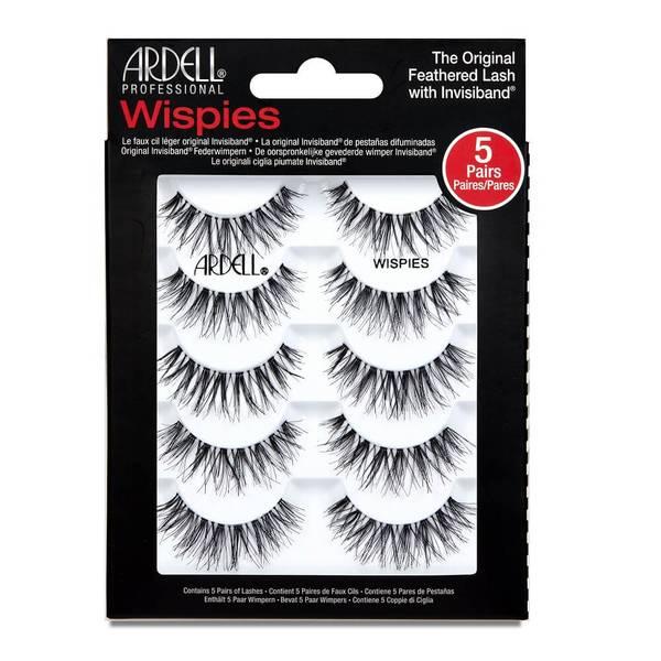 Ardell Multipack Wispies False Eyelashes - Black(아델 멀티팩 위스피스 폴스 아이래시 4개 세트 - 블랙)