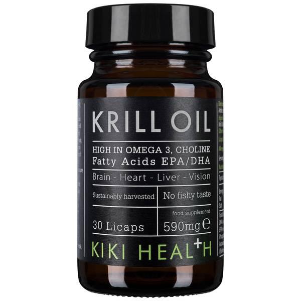 KIKI Health Krill Oil Softgels olej z kryla (30 kapsułek)