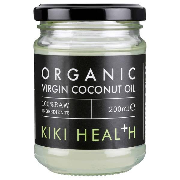 KIKI Health Organic Raw Virgin Coconut Oil olej kokosowy 200 ml
