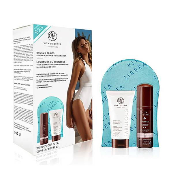 Vita Liberata Bronze Basics Must Have Luxury 3 Piece Tan Set