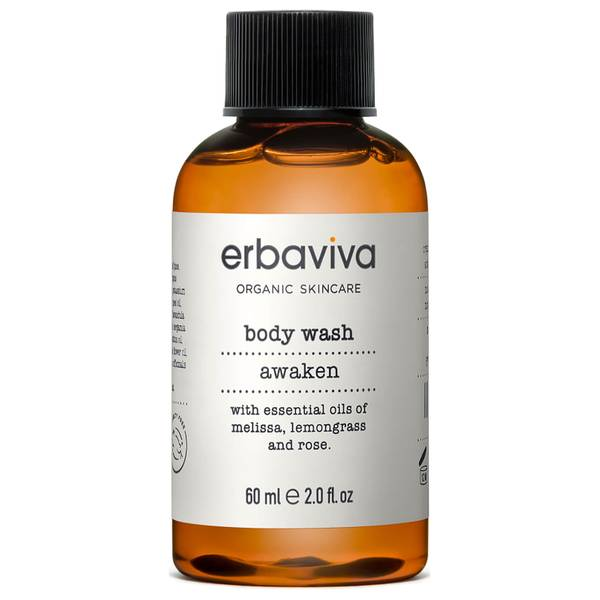 Erbaviva Travel Awaken Body Wash