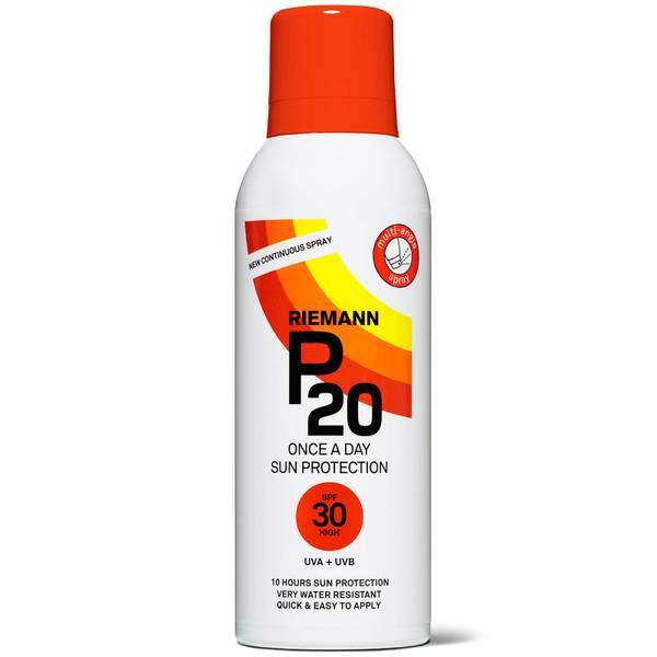 Écran solaire P20 Continuous Spray SPF 30 Riemann 150 ml