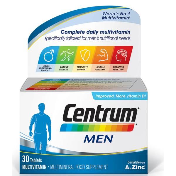 أقراص الفيتامينات المتعددة للرجال من Centrum - (30 قرص)