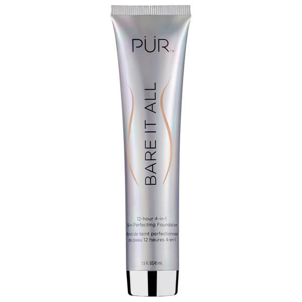 PÜR Bare It All 4-in-1 Skin Perfecting Foundation(퓌르 베어 잇 올 4인1 스킨 퍼펙팅 파운데이션 45ml, 다양한 색상)