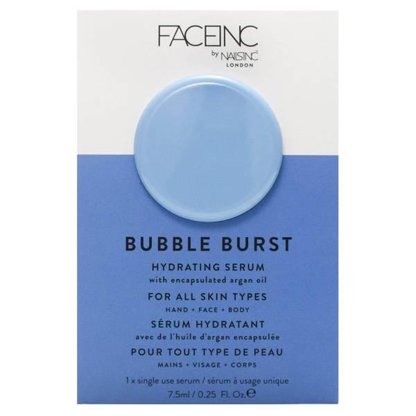 FACEINC by nails inc. Bubble Burst maschera notte levigante e idratante 10 ml