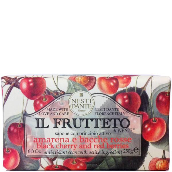Nesti Dante Il Frutteto Black Cherry and Red Berries Soap(네스티 단테 일 프루테토 블랙 체리 앤 레드 베리 솝 250g)