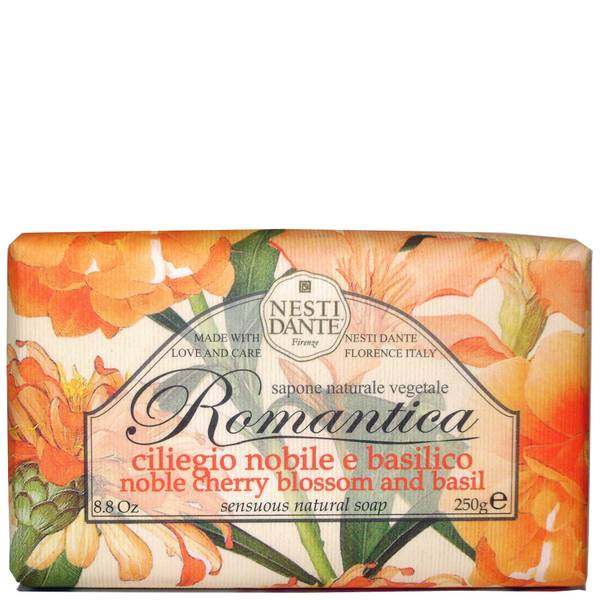 Nesti Dante Romantica Cherry Blossom and Basil Soap(네스티 단테 로만티카 체리 블라썸 앤 바질 솝 250g)