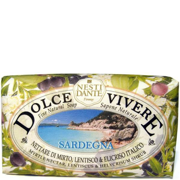 Мыло серии «Сладкая жизнь: Сардиния» Nesti Dante Dolce Vivere Sardinia Soap 250г