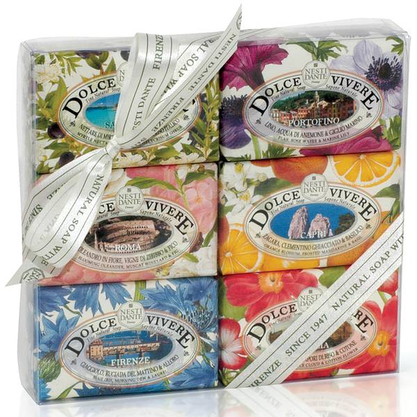Nesti Dante Dolce Vivere Soap Collection Set(네스티 단테 돌체 비베레 솝 컬렉션 세트 6 x 150g)