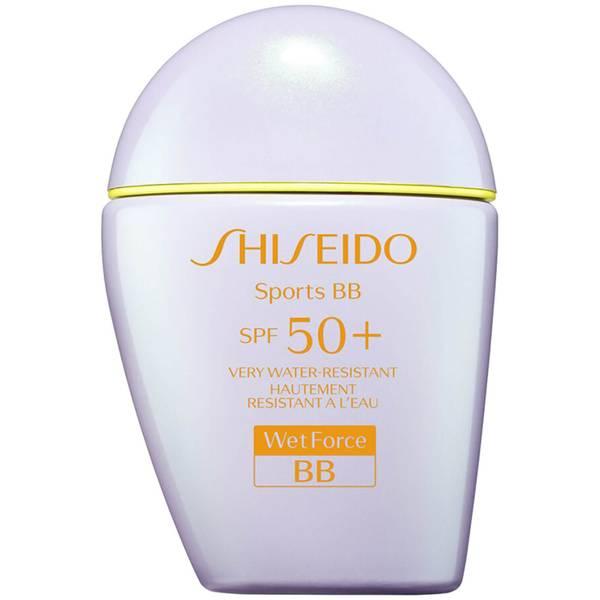 Shiseido Suncare Sports BB Cream SPF 50+ 30 ml (Ulike fargetoner)