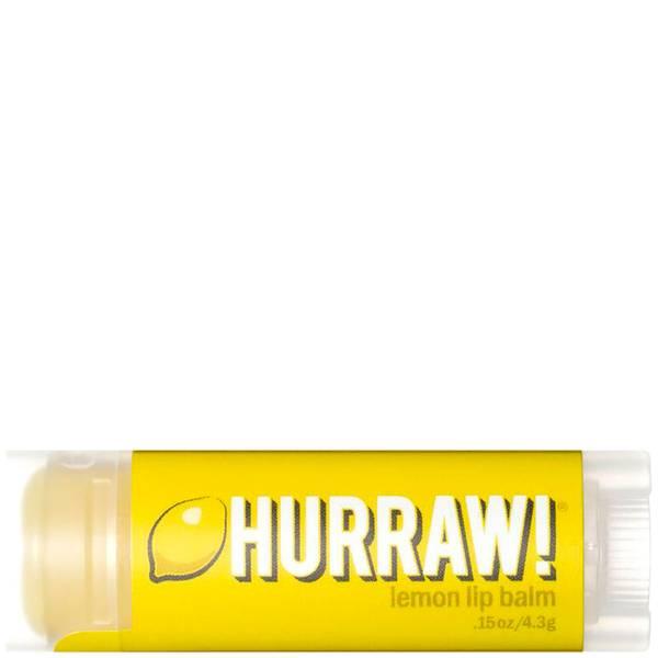 Hurraw! Lemon Lip Balm(허로우! 레몬 립 밤)