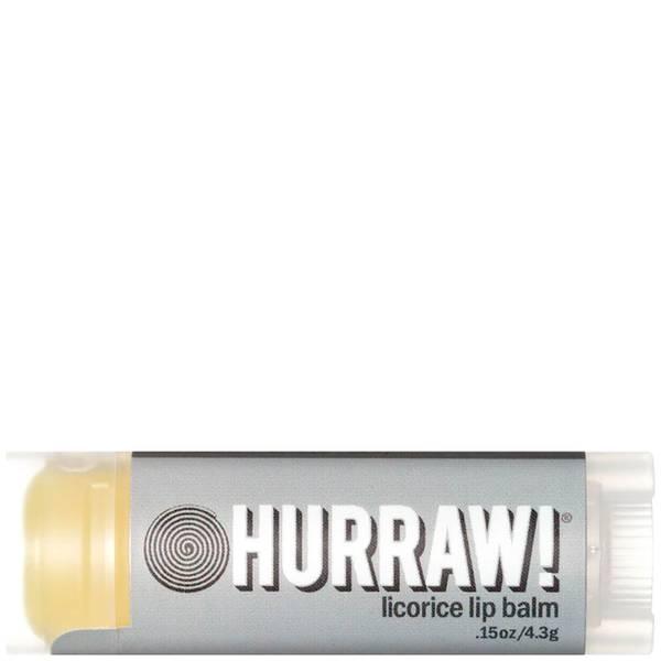 Hurraw! Licorice Lip Balm