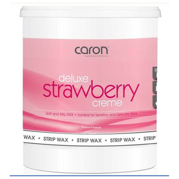 Caron Strawberry Creme Microwaveable Strip Wax 800ml