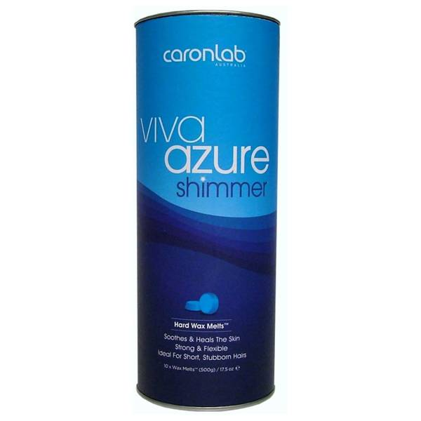 Caron Viva Azure Shimmer Hard Wax Melts 500g