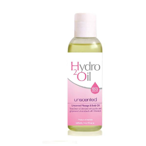 Caronlab Hydro2Oil Unscented Massage and Body Oil 125ml