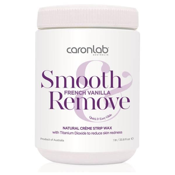 Caronlab Smooth And Remove French Vanilla Natural Creme Strip Wax 800g