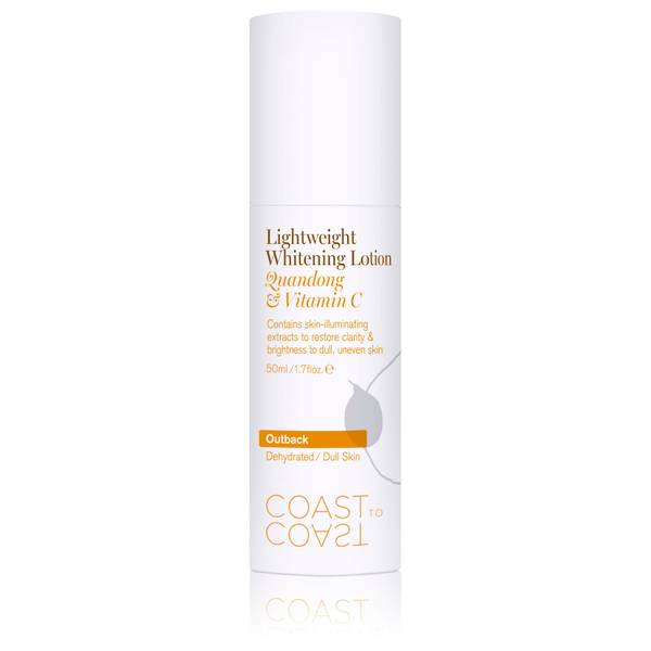 Coast to Coast Outback Lightweight Whitening Lotion 50ml
