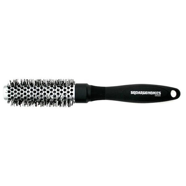 Denman Squargonomic Silver Brush Dsq2S Medium 25mm