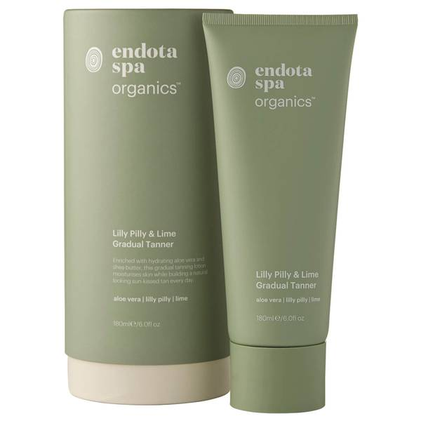 Endota Spa Organics Lilly Pilly And Lime Gradual Tanner 180ml
