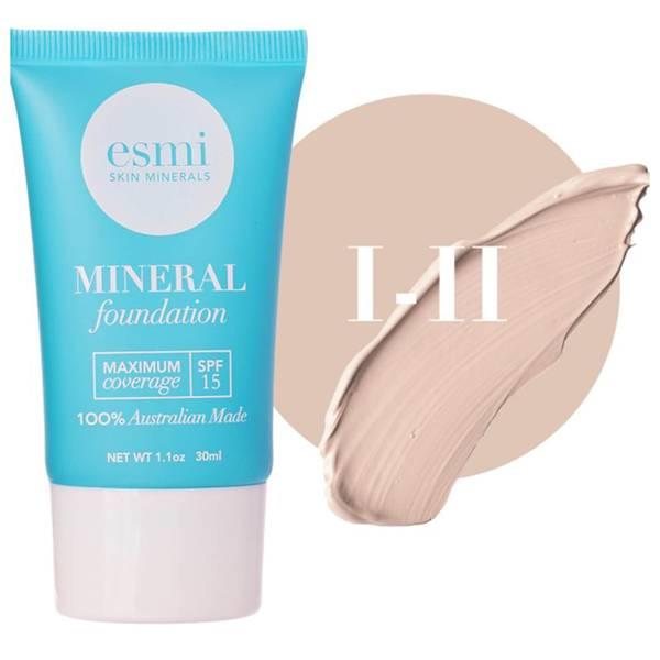 esmi Skin Minerals Mineral Foundation SPF15 I-II 30ml