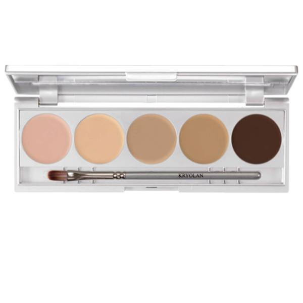 Kryolan Professional Make-Up High Definition Micro Foundation Cache Contouring 10g