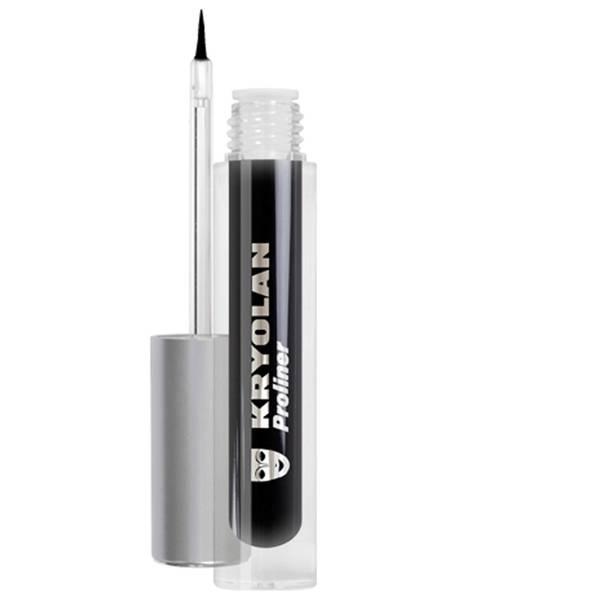 Kryolan Professional Make-Up Proliner - Black 4ml