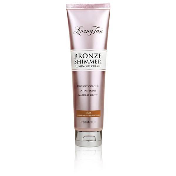 Loving Tan Bronze Shimmer Luminous Cream Instant Colour - Dark 120ml