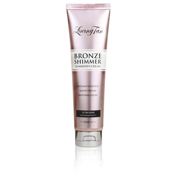Loving Tan Bronze Shimmer Luminous Cream Instant Colour - Ultra Dark 120ml