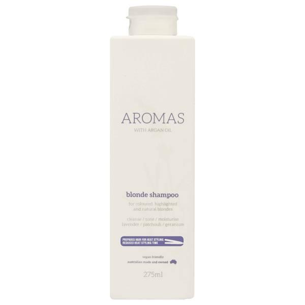 NAK Aromas Blonde Shampoo with Argan Oil 275ml