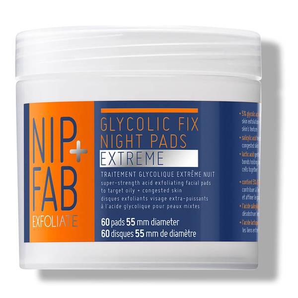 NIP+FAB Glycolic Fix Extreme Night Pads - 60 Pads