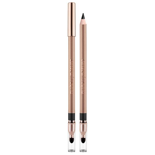 nude by nature Contour Eye Pencil - Black 1.08g